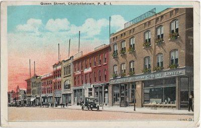 , Queen Street, Charlottetown, P.E.I. (1714), PEI Postcards