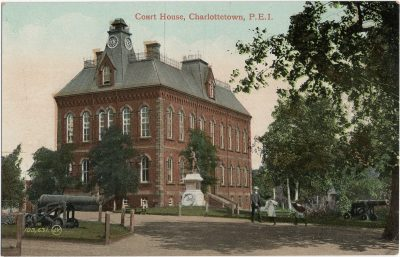 , Court House, Charlottetown, P.E.I. (1720), PEI Postcards