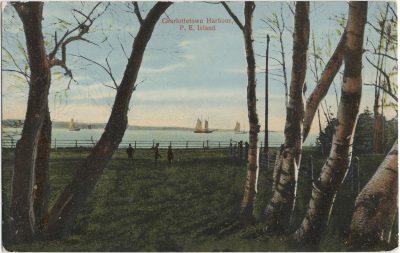 , Charlottetown Harbour, P.E. Island (1747), PEI Postcards