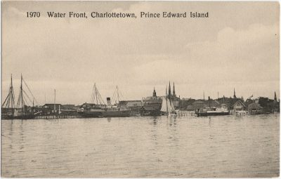 , Water Front, Charlottetown, Prince Edward Island (1749), PEI Postcards