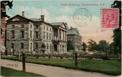 , Public Buildigs, Charlottetown, P.E.I. (1741), PEI Postcards