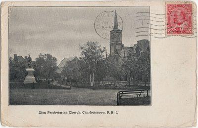 , Zion Presbyterian Church, Charlottetown, P.E.I. (1743), PEI Postcards