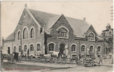 , Market Building, Charlottetown, P.E.I. (1769), PEI Postcards