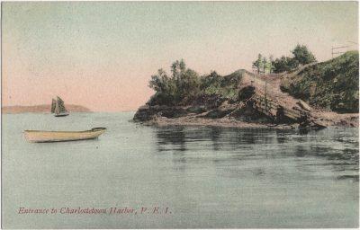 , Entrance to Charlottetown Harbor, P.E.I. (1779), PEI Postcards