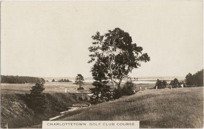 , Charlottetown Golf Club Course. (1781), PEI Postcards