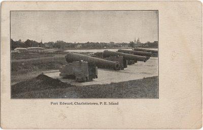 , Fort Edward, Charlottetown, P.E. Island (1793), PEI Postcards