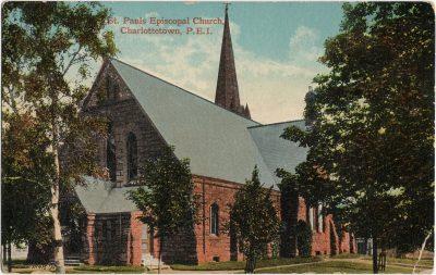 , St. Pauls Episcopal Church, Charlottetown, P.E.I. (1783), PEI Postcards