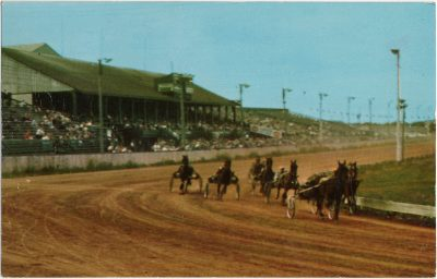 , The Kentucky of Canada. Horse Racing Old Home Week. Charlottetown, Prince Edward Island. (1800), PEI Postcards