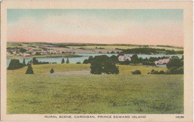 , Rural Scene, Cardigan, Prince Edward Island (1810), PEI Postcards
