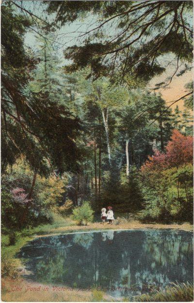 , The Pond in Victoria Park, Charlottetown, P.E.I. (1811), PEI Postcards