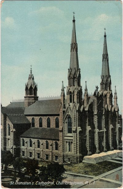 , St. Dunstan's Cathedral, Charlottetown, P.E.I. (1812), PEI Postcards