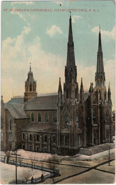 , St. Dunstan's Cathedral, Charlottetown, P.E.I. (1817), PEI Postcards