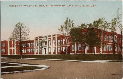 , Prince of Wales College, Charlottetown, P.E. Island, Canada. (1785), PEI Postcards