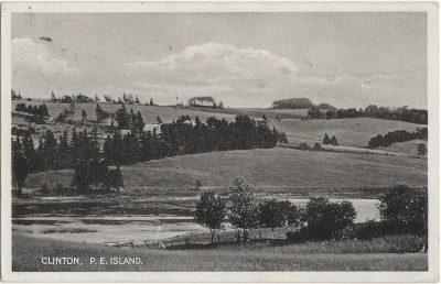 , Clinton, P.E. Island. (1825), PEI Postcards