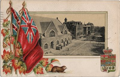 , Queen Square, Charlottetown, P.E.I. (1834), PEI Postcards