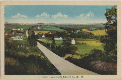 , Hunter River, Prince Edward Island. (1845), PEI Postcards