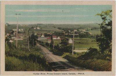, Hunter River, Prince Edward Island, Canada. (1847), PEI Postcards