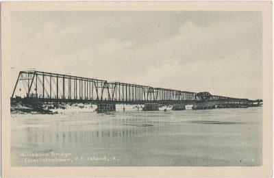 , Hillsboro Bridge, Charlottetown, P.E. Island. (1849), PEI Postcards