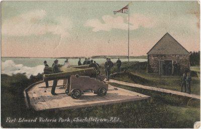 , Fort Edward Victoria Park, Charlottetown, P.E.I. (1851), PEI Postcards