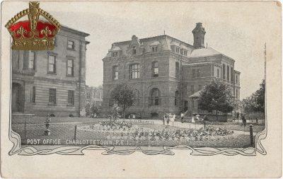 , Post Office Charlottetown, P.E.I. (1855), PEI Postcards