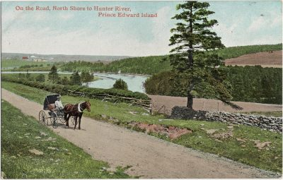 , On the Road, North Shore to Hunter River, Prince Edward Island (1861), PEI Postcards
