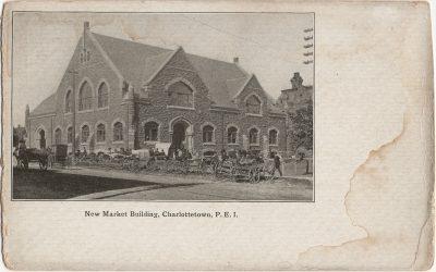 , New Market Building, Charlottetown, P.E.I. (1863), PEI Postcards