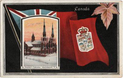 , St. Dunstan's Cathedral, Charlottetown, P.E.I. (1869), PEI Postcards