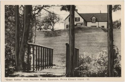 """, """"Green Gables"""" from Haunted Wood, Cavendish, Prince Edward Island. (1877), PEI Postcards"""