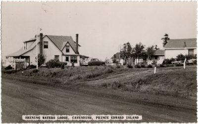 , Shining Waters Lodge, Cavendish, Prince Edward Island (1878), PEI Postcards