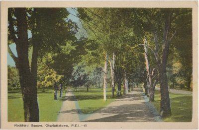 , Rochford Square, Charlottetown, P.E.I. (1882), PEI Postcards