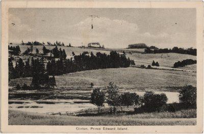 , Clinton, Prince Edward Island. (1883), PEI Postcards
