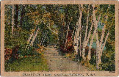 , Greetings from Charlottetown, P.E.I. (1884), PEI Postcards