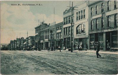 , Queen St., Charlottetown, P.E.I. (1885), PEI Postcards