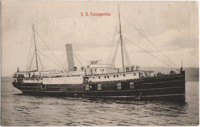 , S.S. Cascapedia (1886), PEI Postcards