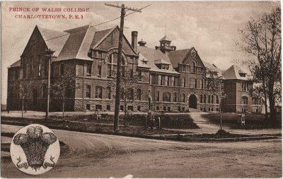 , Prince of Wales College, Charlottetown, P.E.I. (1888), PEI Postcards