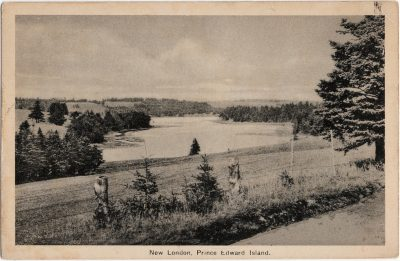 , New London, Prince Edward Island. (1872), PEI Postcards
