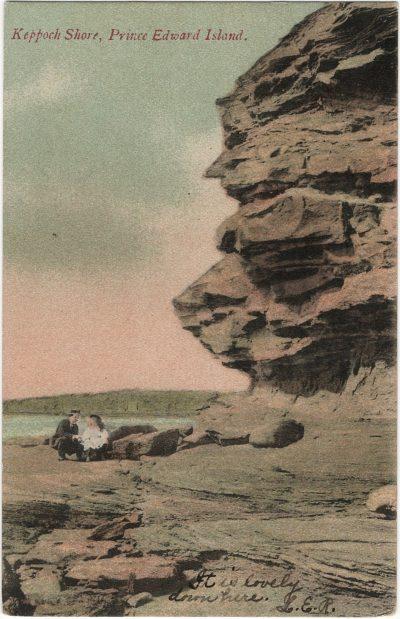 , Keppoch Shore, Prince Edward Island. (1897), PEI Postcards
