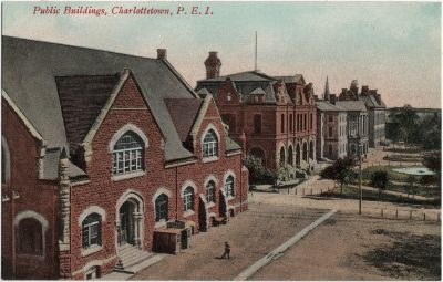 , Public Buildings, Charlottetown, P.E.I. (1905), PEI Postcards