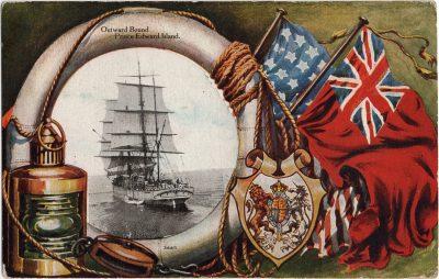 , Outward Bound Prince Edward Island (1916), PEI Postcards