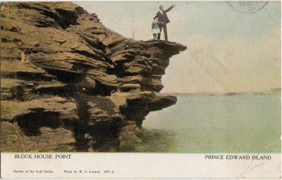 , Block House Point Prince Edward Island (1918), PEI Postcards