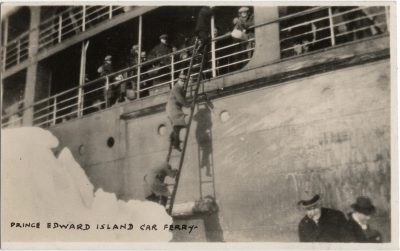 , Prince Edward Island Car Ferry (1930), PEI Postcards