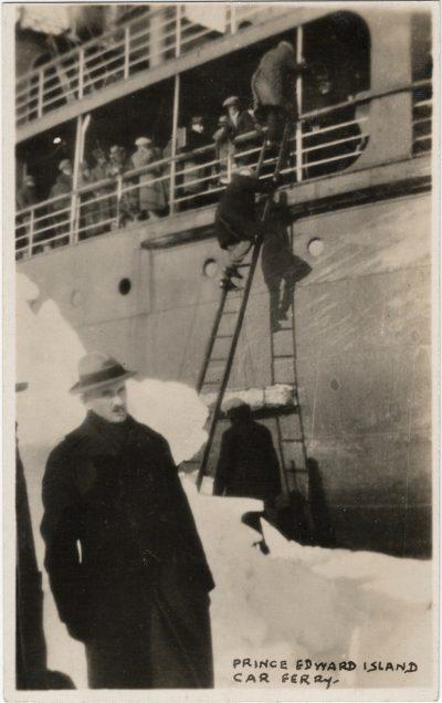 , Prince Edward Island Car Ferry. (1932), PEI Postcards