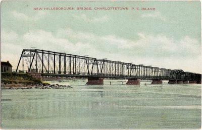 , New Hillsborough Bridge, Charlottetown, P.E. Island (1936), PEI Postcards
