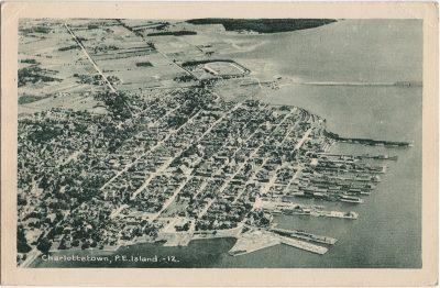 , Charlottetown, P.E. Island. (1951), PEI Postcards