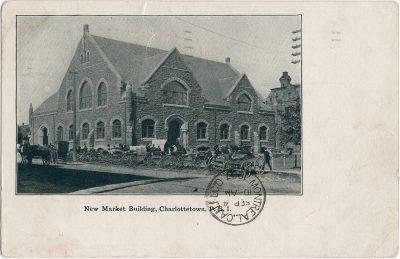 , New Market Building, Charlottetown, P.E.I. (1952), PEI Postcards