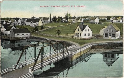 , Murray Harbor South, P.E. Island (1956), PEI Postcards