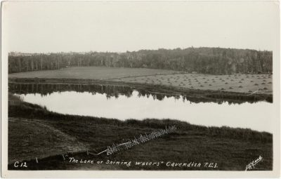 ", ""The Lake of Shining Waters"" Cavendish, P.E.I. (1962), PEI Postcards"
