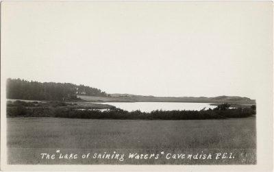 ", The ""Lake of Shining Waters"" Cavendish, P.E.I. (1964), PEI Postcards"