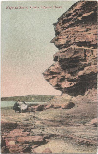 , Keppoch Shore, Prince Edward Island. (1965), PEI Postcards