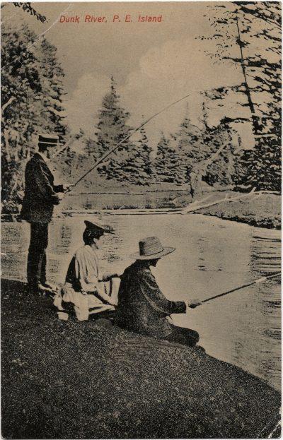 , Dunk River, P.E. Island (1967), PEI Postcards
